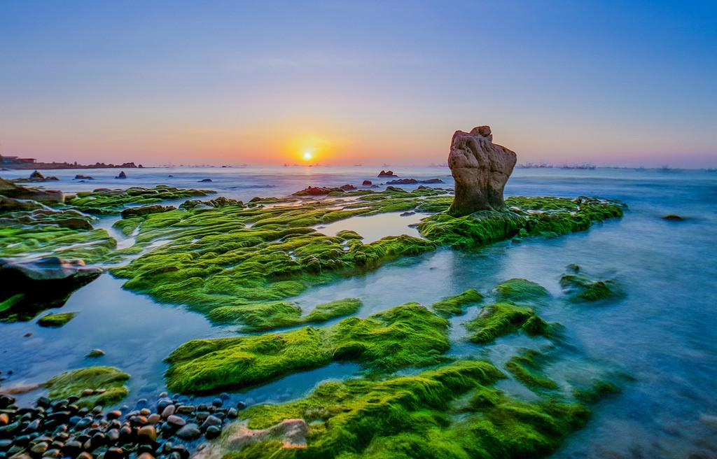 Bãi biển Mũi Né - cổ thạch