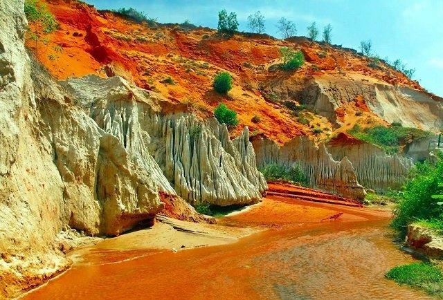 Suối Tiên Mũi Né, Phan Thiết (Khu Du Lịch Suối Hồng) - Hải Tuấn Travel