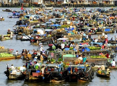 Cai Rang Floating Market Can Tho, My Tho, Ben Tre Mekong Day Tour From HCMC