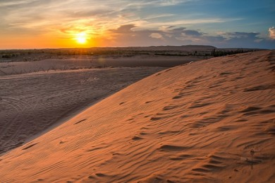 Mui Ne Sunset Sand Dunes Tour From Saigon